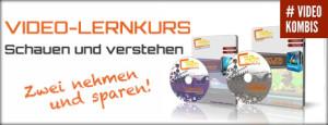 Lernkurs Volume 1+2 für PowerDirector 12