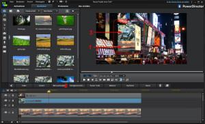 CyberLink PowerDirector 12 - Bildmontage