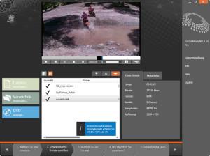 Formatwandler 6 - Videos importieren