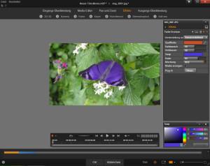 Pinnacle Studio 18 - NewBlue - Farbe ersetzen