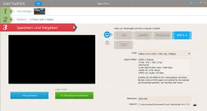 Corel FastFlick - Film oder Slideshow exportieren