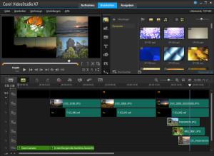 Corel FastFlick - Projekt in Corel VideoStudio bearbeiten