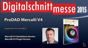 proDAD Mercalli V4 - Digitalschnittmesse 2015