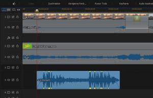 Audio in der Lautstärke abstimmen