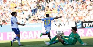 Real Zaragoza - UD Las Palmas - Playoff-Finale / Hinspiel (Foto: Carlos Díaz Recio - www.udlaspalmas.es)