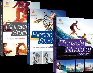 Pinnacle Studio 19 Versionen