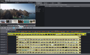 MAGIX Video deluxe - Animierte Videoleiste